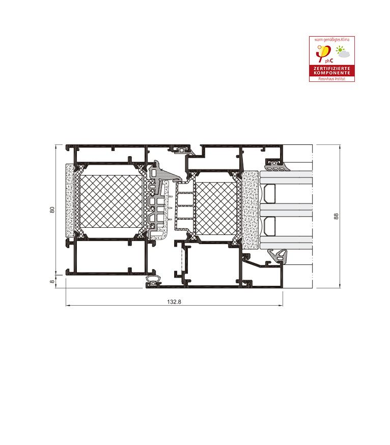 Descripccion tecnica seccion COR 80 Industrial RPT